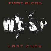 W.A.S.P. CD First Blood... Last Cuts (CD 1994) Wasp Used CD Very Good Condition