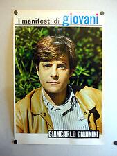 I MANIFESTI DI GIOVANI - Poster Vintage - GIANCARLO GIANNINI - 73x50 Cm [40]