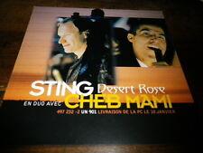 STING & CHEB MAMI - Plan média / Press kit !!! DESERT ROSE !!!