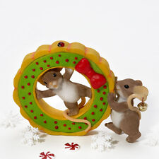 Charming Tails Friends Get Holidays Rolling Mice Figure 4023658 New Mouse
