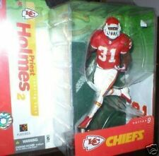 RARE PRIEST HOLMES RED JERSEY WHITE SOCK VARIANT MOC