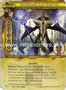 Warhammer Invasion - 1x Asuryans Läuterung  #019 - Angriff auf Ulthuan