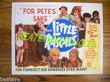 LITTLE RASCALS TITLE CARD-ORIGINAL-OUR GANG-COMEDY-MOVIE POSTERS-TV-LOBBY CARDS