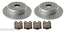 FOR LEXUS IS200 IS300 99-05 REAR DISC + BRAKE PAD SET