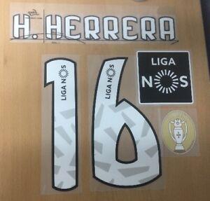 Sipesa Official New Balance FC PORTO 3rd Nameset Patch H.HERRERA 16 2018/19