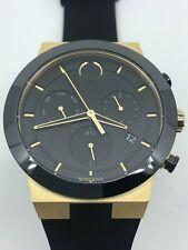 MOVADO Bold Fusion Chronograph Quartz Black Dial Men's Watch 3600712