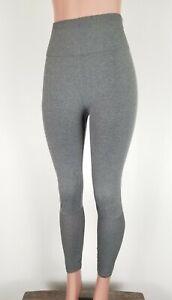 FABLETICS Women's Medium Compression Leggings Seamless High Waisted Mesh Gray