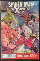 SPIDER-MAN and the X-MEN #2 (2015 MARVEL Comics) ~ VF/NM Book