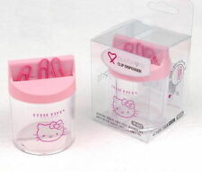 Hello Kitty Clip Dispenser Paper Magnetic Holder Storage Organizer Office AA
