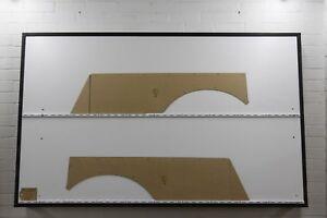 Holden HK, HT, HG Wagon Side Wagon Cargo Panels (Trimmed). Quality Masonite