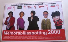 Advertising Memorablilia spotting 2000 Event - unposted