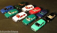 10 Wiking  VW Golf Fahrzeuge HO 1:87 #L196/75