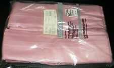 Vtg JCPenney Pinch Pleated Insulated Lined Drape Rose Pink 2 Panel 50 x 45 NIP