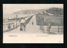 Sussex EASTBOURNE Parade c1900s u/b PPC
