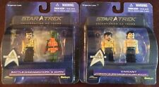 Diamond Select Star Trek Mini Mates Series 2 Chekov & Smash Sulu/ Kirk & Born