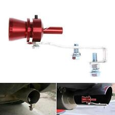 Universal Auto Car BOV Turbo Pipe Sound Whistle Simulator Pipe Exhaust Muffler