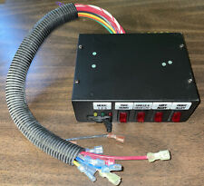 Federal Signal Sw400ss Neg Gnd Light Control Switch Box For Dps Public Safety