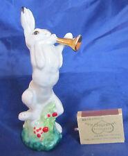 Hare with Trumpet - Rabbit Musician Porcelain Figurine Russia Lfz Lomonosov