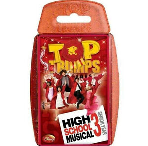 HIGH SCHOOL MUSICAL 3  SENIOR YEAR TOP TRUMPS SPECIALS NEW AND SEALED