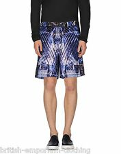 JUST CAVALLI Mens Multi Coloured Bermuda Printed Shorts UK32 IT48 W32 BNWT