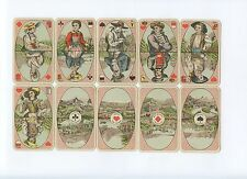 Costumes Suisses 1890 CL.Wüst playing cards
