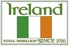 IRELAND NATIONAL FOOTBALL TEAM POSTER ~ LOGO 24x36 World Cup Soccer Rebellion