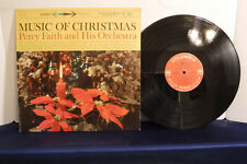 Percy Faith & His Orchestra, Music Of Christmas, Columbia Records CS 8176