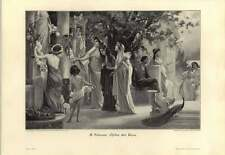1907 A Schram ~ Opfer Der Hera ~ Victims Of Hera - German Artwork