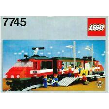 Lego Vintage 7745 High-Speed Express Passenger Train, 100% Complete, Instruction