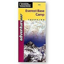 National Geographic Maps AD00003001 Everest Base Camp