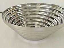 Alessi Maya Edelstahl Schale Schüssel Bowl Design Sean Falconieri,1977