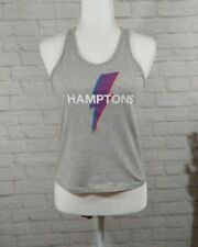 SoulCycle   Hamptons Lightening Bolt Graphic Workout Active Cycling Shirt Tank