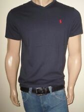 POLO RALPH LAUREN MEN T-SHIRTS CREW NECK AND V-NECK S,M,L,XL,XXL STANDARD FIT