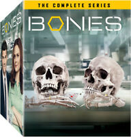 Bones: The Complete Series (67 Disc) DVD NEW