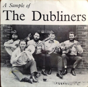 """The Dubliners – A Sample Of The Dubliners EP. 7"""". Pic Sleeve. Mint"""