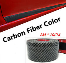 2M*10cm Car Door Sill Scuff Pedal Fender Protect Side Body Skirt Eyebrow Sticker