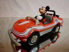VINTAGE DISNEY RACING CAR MICKEY MOUSE CORVETTE? #45 - L16.5cm - NICE CONDITION