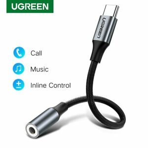 C USB Type 3.5 Jack Adapter Audio Cable AUX Headphones Port for Huawei XIAOMI