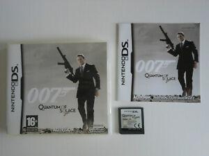 007 JAMES BOND QUANTUM OF SOLACE * GAME DS / DS LITE / DSi . 100% GENUINE