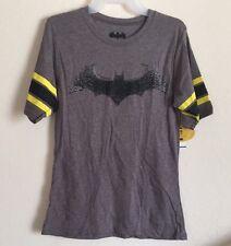Ladies Batgirl Logo DC Comics T Shirt XLarge 15-17 Batman Hockey
