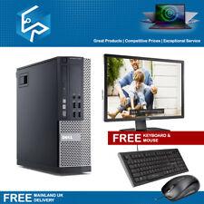 PC Bundle Dell 7010 i5 4GB 8GB 1TB HDD Win 10 PC Computer with TFT Monitor WiFi