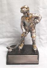 roller Hockey trophy statue resin award Tre105 black base