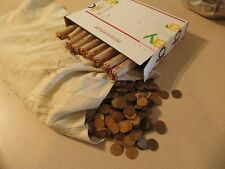Lot of 1000 (20 Rolls) Lincoln Cents - (3) 30's, (17) 40's/50's - Mixed - 37Su-2