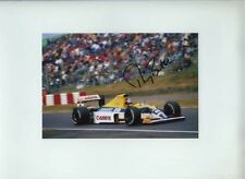 Thierry Boutsen Williams FW13 Japanese Grand Prix 1989 Signed Photograph 1