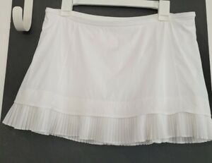 EUC Lululemon City Sky Run By Skirt White Size 10