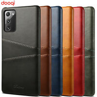 For Samsung Galaxy Note 20 Ultra 10 9 8 + PU Leather Wallet Card Slot Back Case