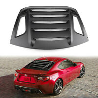 Rear Window Louver Sun Shade Cover For Scion FR-S Toyota GT86 2013-2018 T5
