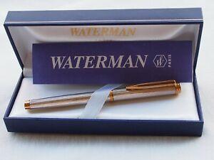 WATERMAN Gentleman Sterling silver fountain pen.