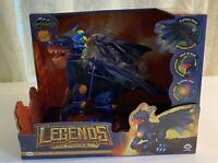 WowWee Untamed Legends Dragon - Interactive Vulcan Dark Blue Dragon - Age 5+ NIB