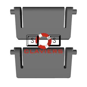 Das Keyboard 5Q Keyboard Spare Replacement Tilt Leg Stall Foot Feet Set